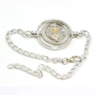 Harry Potter Tijdverdrijver armband zilver