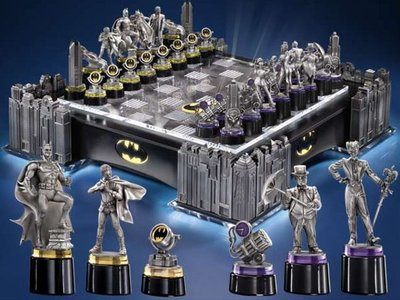 Batman luxe schaakset [Collectors Item]