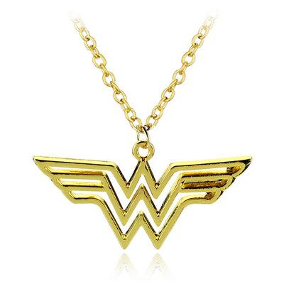 Wonder Woman gouden logo ketting