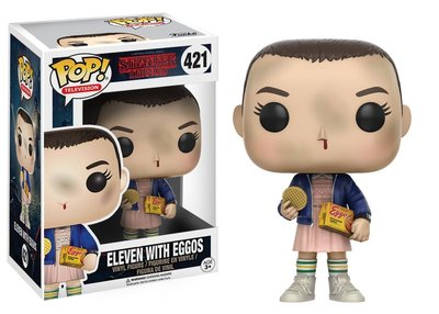 Funko Pop! Stranger Things: Eleven met Eggos