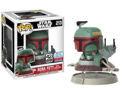 Funko Pop! Star Wars: Boba Fett with Slave One [NYCC 2017]