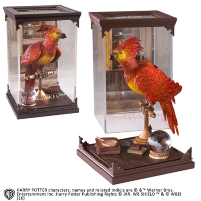 Harry Potter: Magical Creatures diorama - Fawkes / Felix the Phoenix