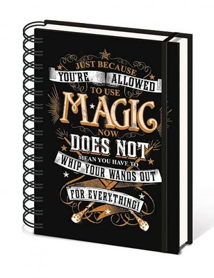 Harry Potter notitieboek A5 - Magic