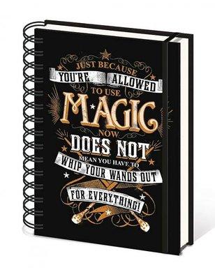 Harry Potter notitieboek A5 - Magic