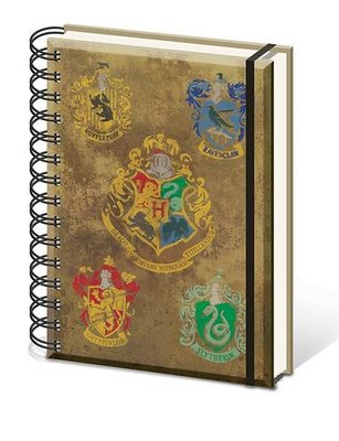 Harry Potter notitieboek A5 - Hogwarts Crest