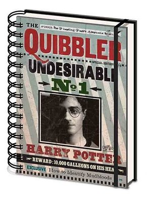 Harry Potter notitieboek A5 - The Quibbler