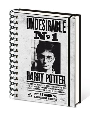 Harry Potter notitieboek A5 - Undesirable No.1