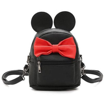 Minnie Mouse kleine rugtas met oren en strik