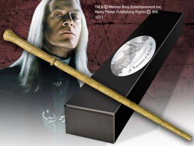 Lucius Malfidus (Malfoy) toverstaf [Character Wand]