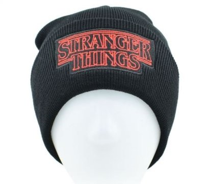 Stranger Things beanie met logo