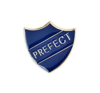 Prefect badge: Ravenclaw