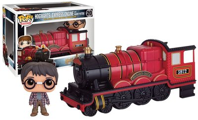Funko Pop! Rides Harry Potter: Hogwarts Express met Harry