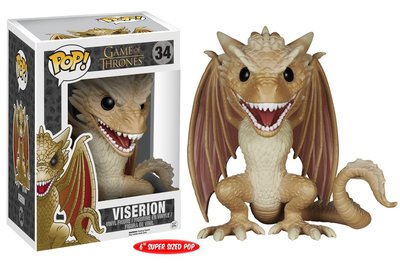 Funko Pop! Game of Thrones: Viserion 6'' inch