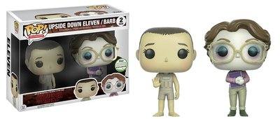 Funko Pop! Stranger Things: Eleven & Barb Upside Down [ECCC 2017 Exclusive]