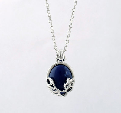 The Vampire Diaries: Katherine lapis lazuli ketting
