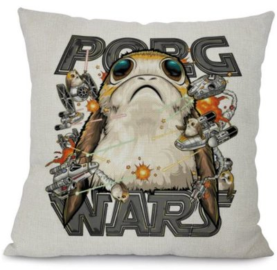 Star Wars kussenhoes: Porg Wars