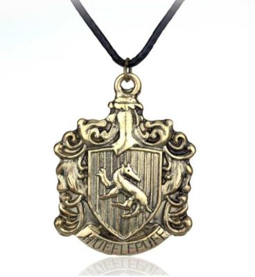 Harry Potter: Hufflepuff logo ketting