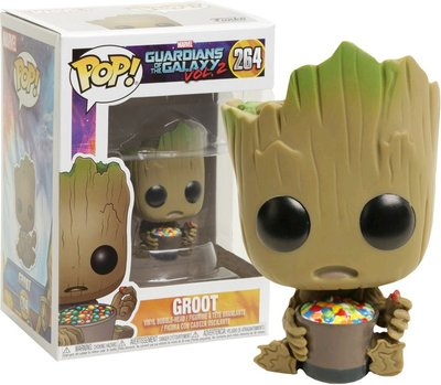 Funko Pop! Guardians of the Galaxy: Groot with Candy Bowl [LIMITED]