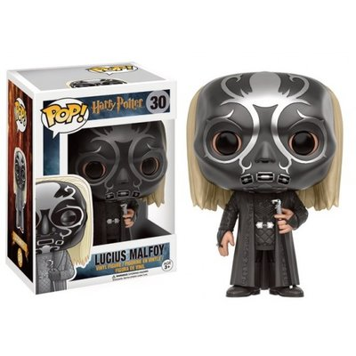 Funko Pop! Harry Potter: Lucius Malfoy as Death Eater [Exclusive]
