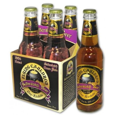 Harry Potter Flying Cauldron Butterbeer (Boterbier) - 4 stuks