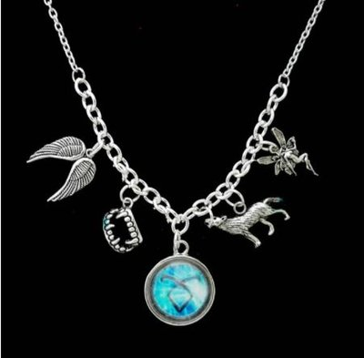 Shadowhunters: Mortal Instruments ketting met bedels