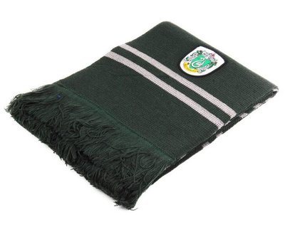 Harry Potter luxe Slytherin sjaal