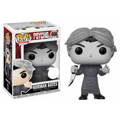 Funko Pop! Psycho - Norman Bates Black & White [Exclusive]