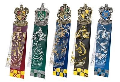 Harry Potter Hogwarts Crest boekenlegger set