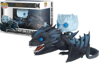 Funko Pop! Game of Thrones: Night King on Viserion