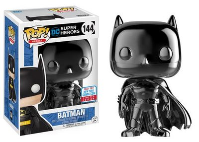 Funko Pop! Batman Black Chrome [NYCC 2017]