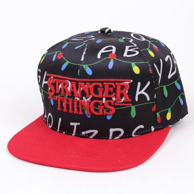 Stranger Things snapback pet met lampjes