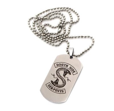 Riverdale Southside Serpents metalen ketting