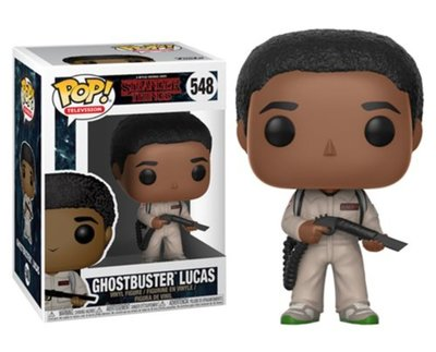 Funko Pop! Stranger Things: Ghostbuster Lucas