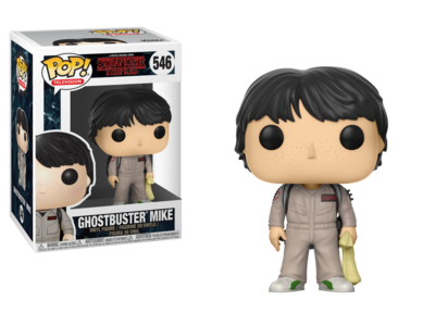 Funko Pop! Stranger Things: Ghostbuster Mike