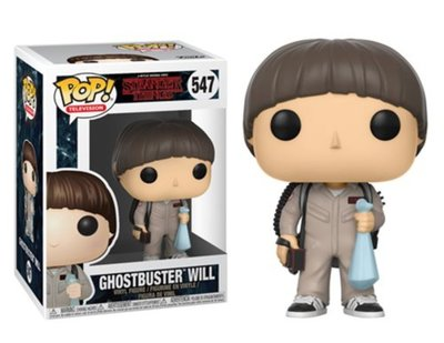 Funko Pop! Stranger Things: Ghostbuster Will