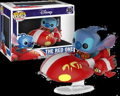 Funko Pop! Disney: Lilo & Stitch The Red One [Exclusive]