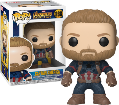 Funko Pop! Avengers Infinity War: Captain America
