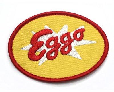Stranger Things opstrijkbare patch Eggo