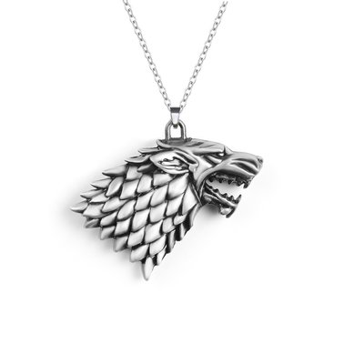Game of Thrones Stark Winter is Coming ketting