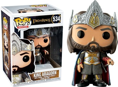 Funko Pop! Lord of the Rings: King Aragorn [Exclusive]