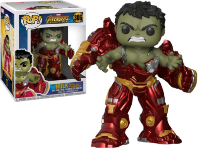 Funko Pop! Marvel: Avengers Infinity War - Hulk Busting out of Hulkbuster