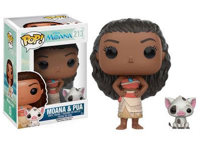 Funko Pop! Disney: Moana - Moana & Pua