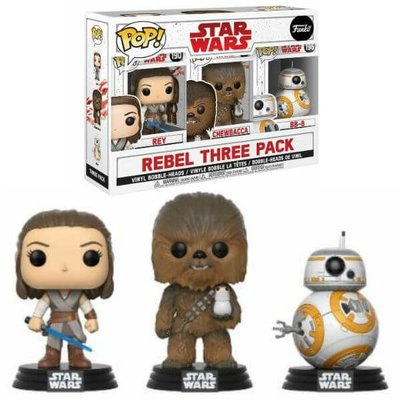 Funko Pop! Star Wars: Rebel 3-pack