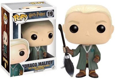 Funko Pop! Harry Potter: Draco Malfoy Quidditch [Exclusive]