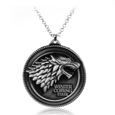 Game of Thrones: Stark wolf ketting