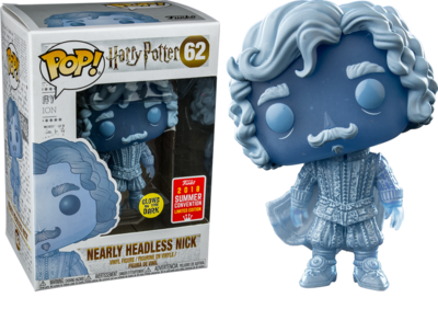Funko Pop! Harry Potter: Nearly Headless Nick [SDCC 2018]