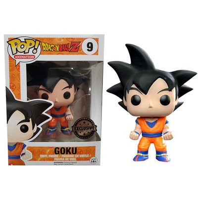 Funko Pop! Dragon Ball Z: Goku Black Hair [Exclusive]