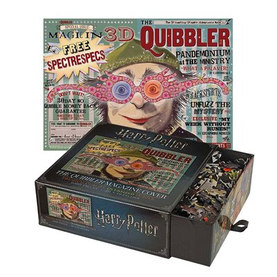 Harry Potter puzzel Quibbler [The Noble Collection]