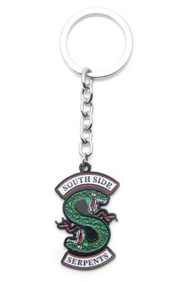 Riverdale Southside Serpents logo sleutelhanger
