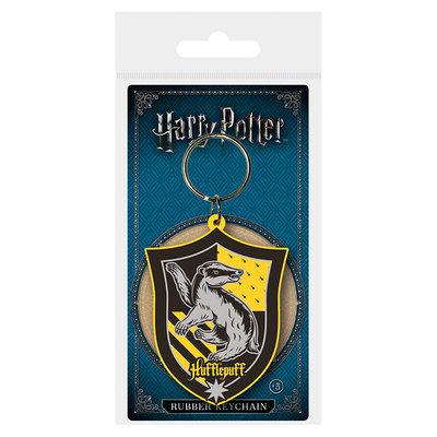 Harry Potter rubberen sleutelhanger Hufflepuff
